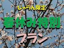 春休み特別プラン
