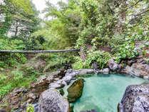 *【露天風呂】自然を感じながらの入浴…♪当館自慢の露天風呂。