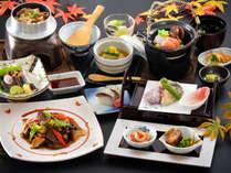 【いろどり秋会席】松茸や秋刀魚などの秋の味覚をたくさん使った贅沢会席♪