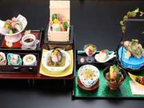 本膳料理 古都奈良 万葉ロマンの宴プラン ※料理内容は日により変わります。写真はイメージです。