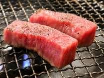 *[夕食一例]メインは質にこだわったお肉の焼肉
