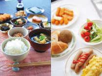 バイキング朝食【無料】後宿泊の皆様にお召し上がりいただけます。