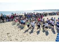三浦国際市民マラソン キッズビーチランの様子♪♪♪