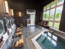 【内湯】「女風呂」古き良き時代の銭湯をテーマにした源泉掛け流しの内湯