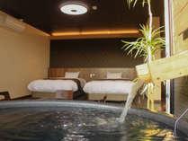 【全客室露天風呂付】和モダンをテーマに設計された天然温泉露天風呂付客室