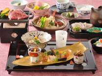 『優雅なひととき』神戸牛などプレミアム食材が味わっていただけます(イメージ)