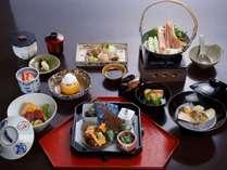 冬の京風会席料理(イメージ)