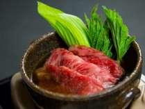 神戸牛を使った一品の例