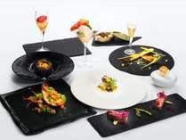 2020年7月からの新メニュー。レストラン ラ・フォンテーヌでご提供する<ドレ>コース。