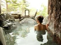 【貸切風呂】「岩室」