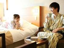 【お部屋】客室でゆっくり2人の時間を過ごして下さい。