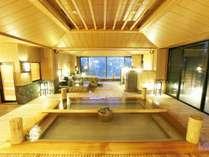 【大浴場】≪拾五の湯≫檜湯