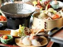【ご夕食】メインのお料理はお選び(お選び:海鮮鍋)※仕入状況により、変更ございます。