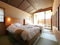 【客室】寝室が2室ございますので、広々お使いいただけます。