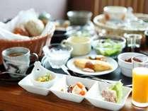 【朝食】洋膳(一例)