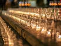 【湯畑キャンドル】幻想的な「夢の灯り」をお楽しみください。