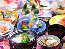 ◎【四季グルメ・春季限定】鯛料理や季節の味を楽しむ創作和会席☆春の味覚プラン