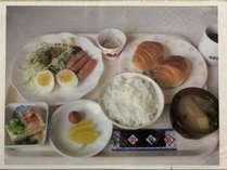 軽朝食の一例