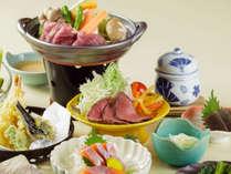 *お料理一例/地元の食材やその時にしか味わえない「旬の味」をお楽しみいただけます。