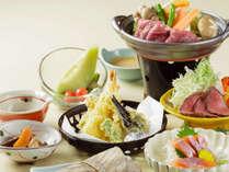 *お料理一例/地場産の食材を季節ごとに堪能できる和食会席