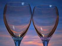 *プラン特典!夕食時のグラスワインを1杯サービスいたします♪
