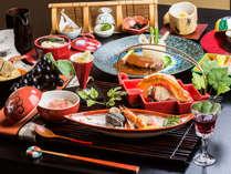 【ハイグレード】~石焼き信州牛の会席料理コース~★特別フロアご宿泊プラン♪