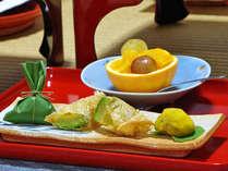 季節の味覚を使用した精進料理をお召上がり下さい