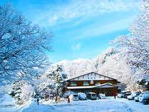 信州乗鞍高原の大自然の中にある宿-冬-