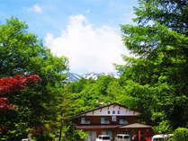 信州乗鞍高原の大自然の中にある宿-グリーンシーズン-