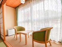 2018年 リニューアルした温泉付き和室8畳のお部屋です。