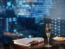 エグゼクティブフロア特典★夕刻のカクテルサービスはディナーの前のひと時に大人気!