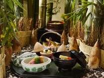 春の味覚 香りと食感を楽しむ筍一品料理を4月末まで日本料理「源氏香」にてお楽しみいただけます♪