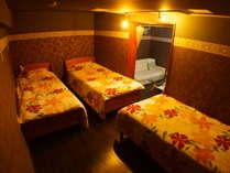 3ベッドのファミリールーム