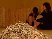 名物 薬草蒸し風呂「江戸風呂 山の編」海・山・大地3種の蒸し風呂で汗と一緒に悪いものを出しましょう。