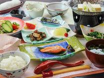 【朝食一例】山形のお米を中心とした和朝食