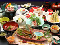 【ご夕食一例・美食会席】料理長おまかせでプチ贅沢