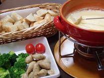 北海道チーズを使ったフォンデュ♪絶品です。