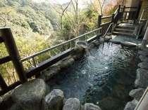 景色の良い露天風呂