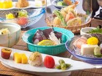 夏の会席料理例