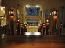 大階段上から夕方の眺め♪