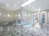 9種類の浴槽をご用意しているスパ施設(リバティ内)