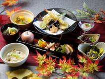 箱根らしい秋を意識したお料理例