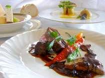 ◆世界三大食材をふんだんに生かしたフレンチディナー
