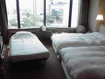 ◆みんなで泊まろう!エキストラベッドい1台でトリプルルーム