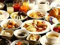 ◆朝食バイキングは、和洋のバランスがとれています。どなたでもご満足頂ける内容です♪