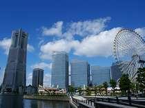 ブリーズベイホテルからみなとみらい地区へのアクセスは抜群です!みんなで横浜を満喫しよう♪