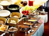 元気な一日は朝食から!【和洋バイキングで和食も充実してます!】