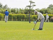 【平日限定/1泊4食付】グラウンドゴルフ2日間と温泉のお得なパック!