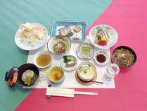 *【食事例】チョッと控えめコース。旬の味覚をしっかりお楽しみ頂けます。