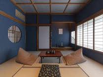 二階には伝統と文化の根付いた金沢らしい純和室が二部屋。一階には洋室も備わり、ゆったりお休み頂けます。